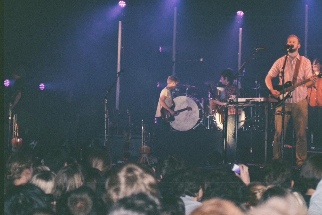 Bon Iver Live at Pitchfork Festival 2011 | Paris, France | Nikon F55 | day in the city © 2016