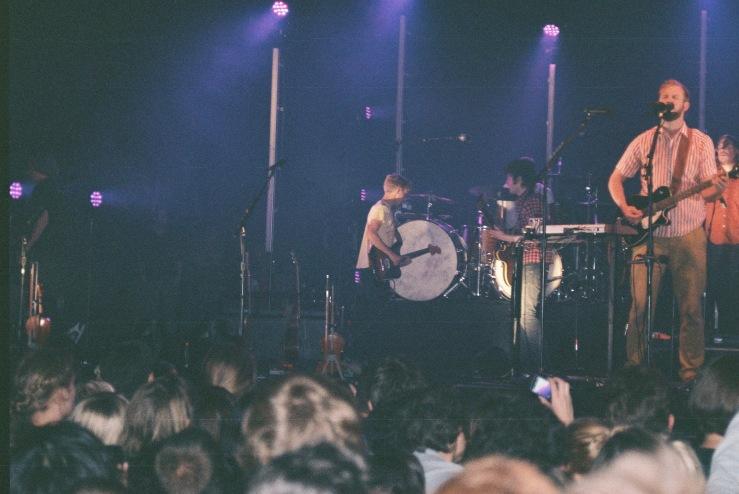 Bon Iver Live at Pitchfork Festival 2011 | Paris, France | Nikon F55 | day in the city © 2016