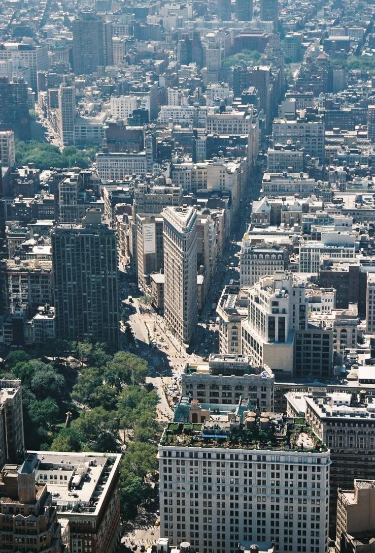 NYC Cityscape | New York City, USA | Nikon F55 | day in the city © 2016