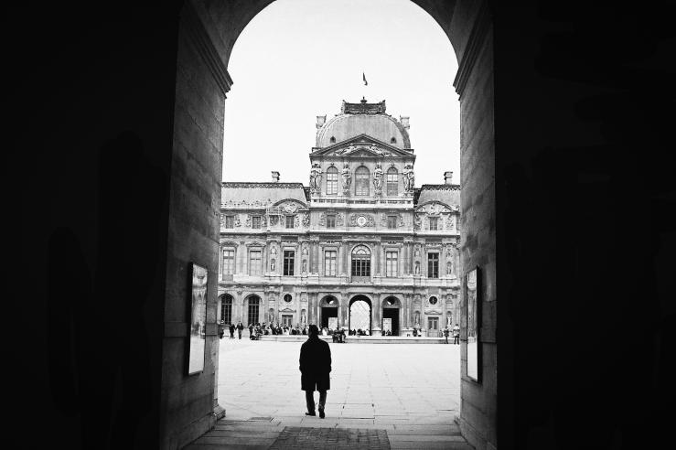 Palais du Louvre | Paris, France | Nikon F55 | day in the city © 2016
