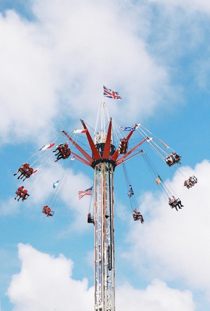 Swing | Brighton | Nikon F55 | day in the city © 2016