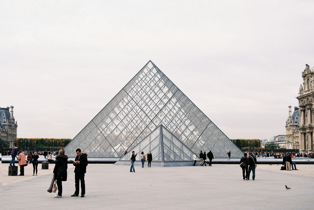The Louvre 2011 | Paris, France | Nikon F55 | day in the city © 2016